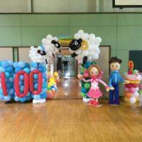 100周年記念装飾